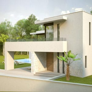 Beautiful contemporary architecture just 100 meters from the sea | Marbesa 104