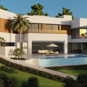 Three-storey contemporary villa in one of the best golf areas of Marbella | Rio Real 98
