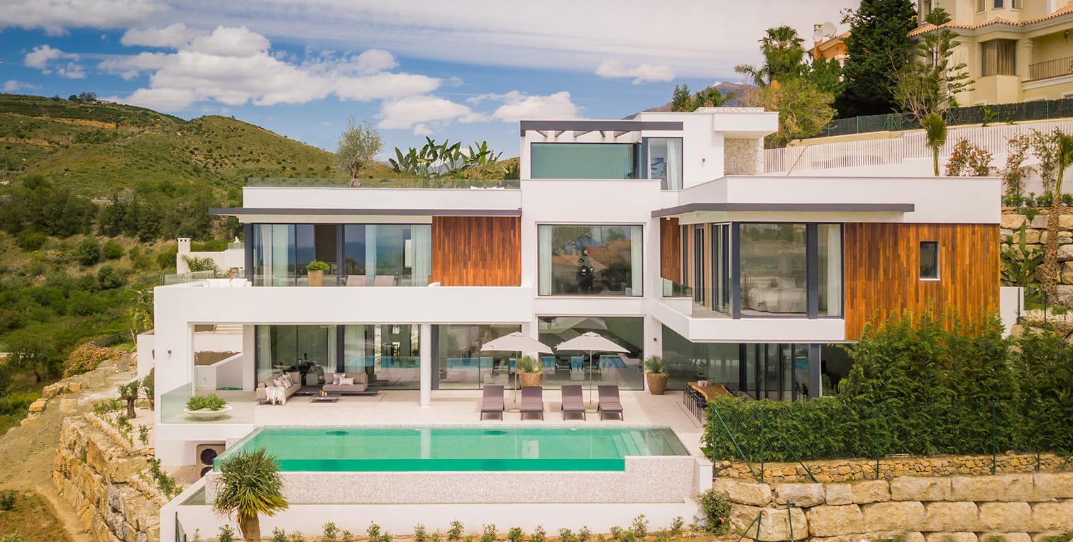 Captivating contemporary new built villa in Benahavis | Alqueria C27