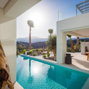 Three-storey villa with stunning views to Gibraltar and Africa | La Panera 25