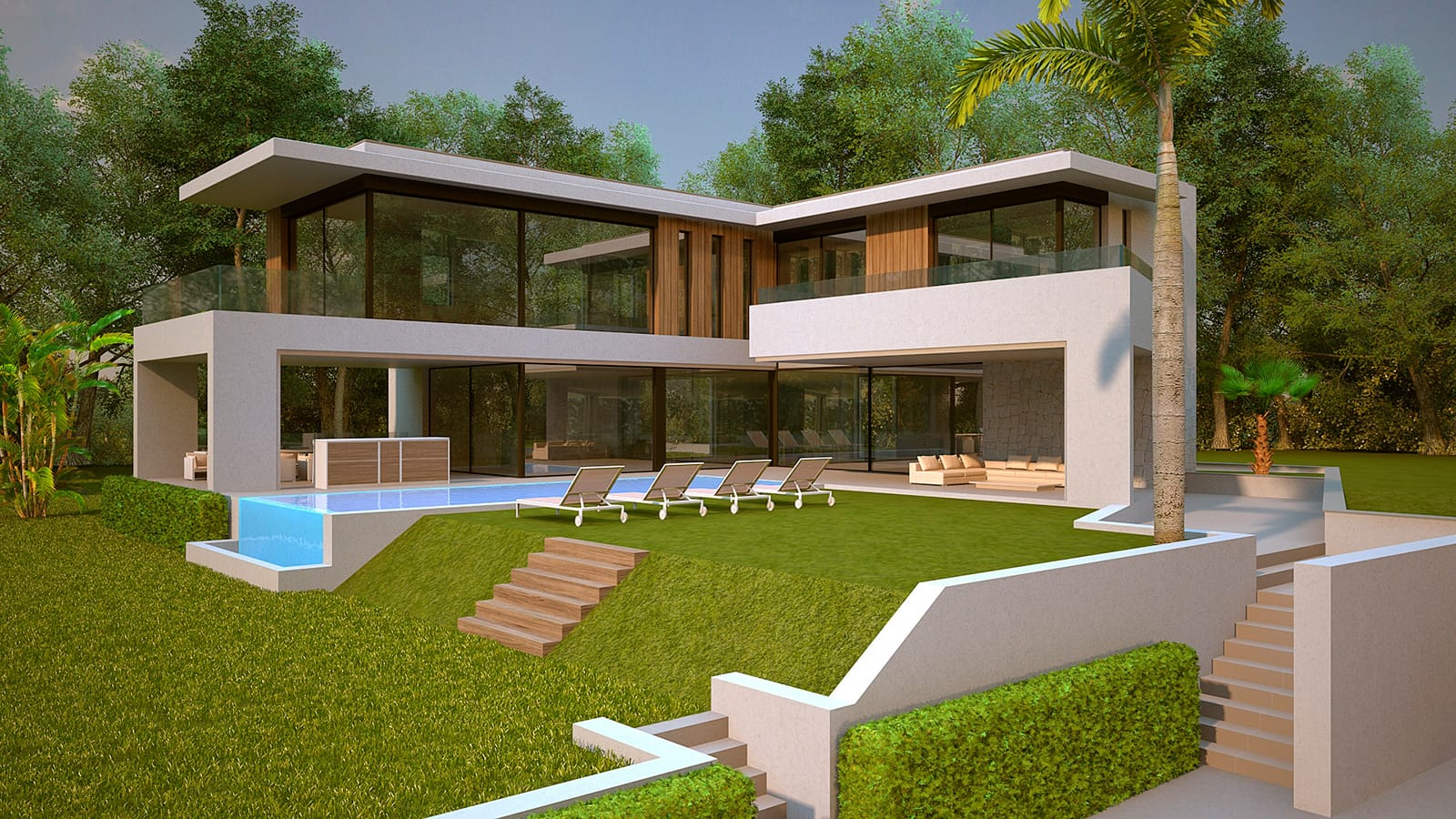 This outstanding villa with striking modern architecture will set a new benchmark in design | Marbesa 109